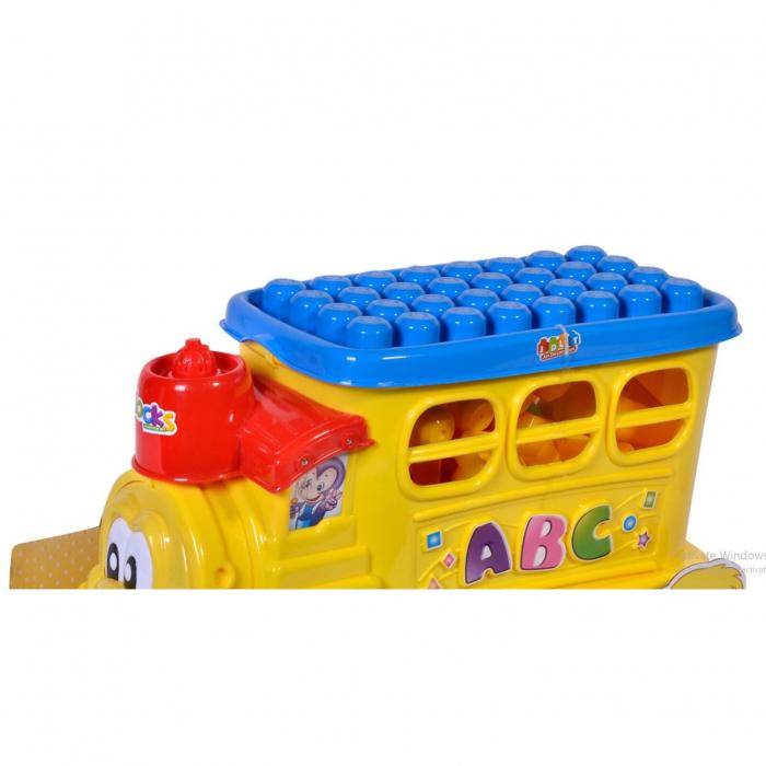 Set 47 cuburi cu locomotiva, Lioness [2]