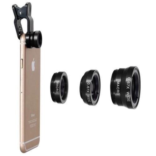 Set 5 in 1 lentile profesionale (wide) + selfie stick + mini trepied + suport smarthphone universal [2]