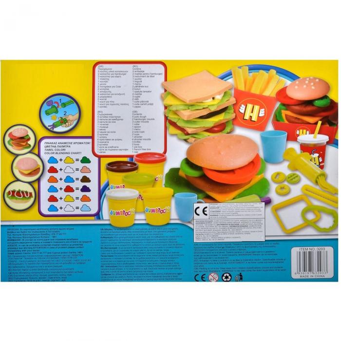 Set plastilina Burger si accesorii MixtStore [1]