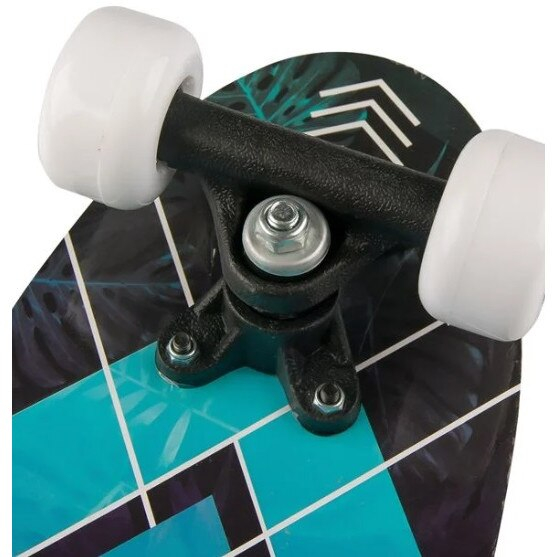 Skateboard cu suprafata antiderapanta, 15x52 cm, multicolor, Topi Toy [1]