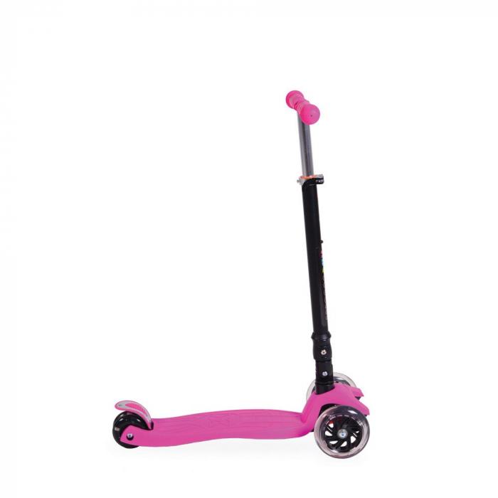 Trotineta Copii Moni ABC Scooter Roz [0]