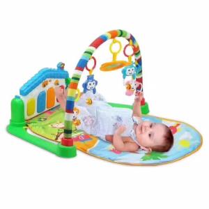 Patura pentru bebelusi interactiva, patura activitati bebe, Roz