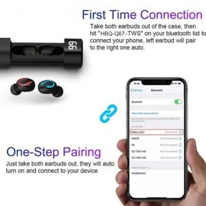 Casti Wireless G6 TWS Bluetooth 5.0 compatibile cu iOS & Android [1]