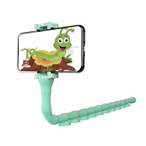 Suport telefon Worms maleabil in orice pozitie cu ventuze de prindere [1]