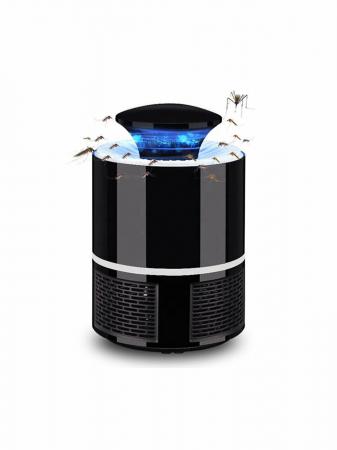 Lampa LED, 360 grade anti tantari, port USB, negru [1]