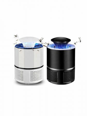 Lampa LED, 360 grade anti tantari, port USB, negru [2]