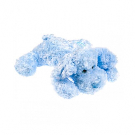 Caine de plus,albastru,38cm