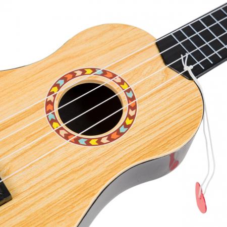 Chitara ukulele pentru bebelusi, Lioness, 12.5 x 41.5 x 4 cm [2]