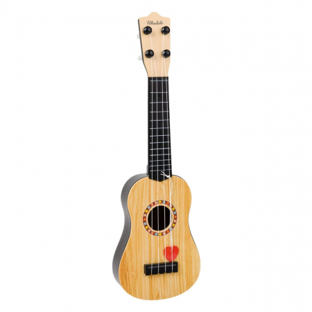 Chitara ukulele pentru bebelusi, Lioness, 12.5 x 41.5 x 4 cm [1]