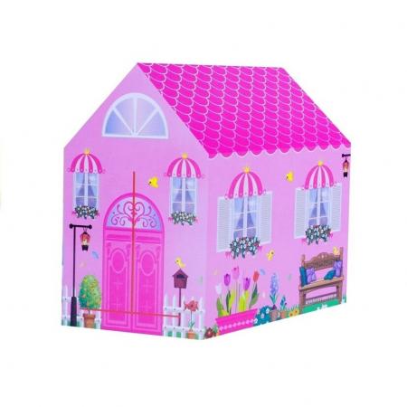 Cort Casuta Malipen 103 x 93 cm, roz [0]
