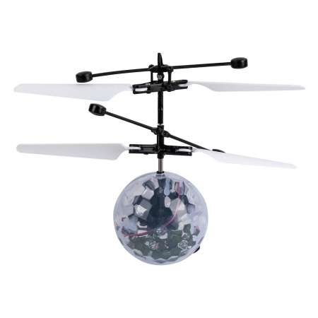 Elicopter mini alb cu infrarosii, Lioness, 16 x 5.5 x 17.5 cm [0]