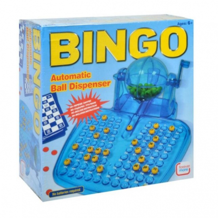 Joc Bingo gigant Lumi LUXURY®, include husa, bile, carti de bingo si jetoane, +6 ani [0]