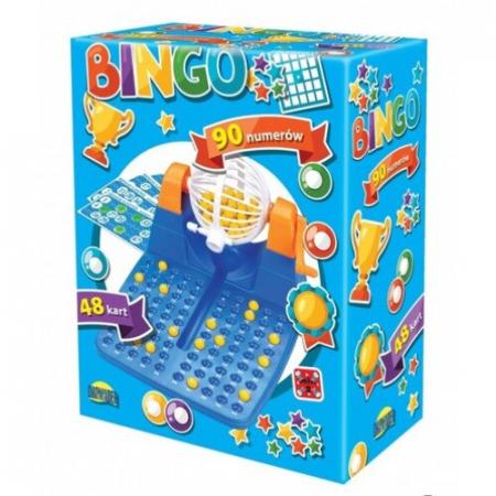 Joc de societate Bingo Dromader, 40 de carduri, Multicolor, 10 ani+