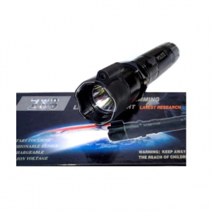 Lanterna WLS 288 cu electrosoc si laser incorporat , 9000 KV, Neagra [0]