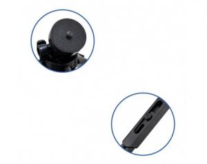Mini Trepied Rotativ De 360 De Grade Pentru Telefon, Gopro, Negru [4]