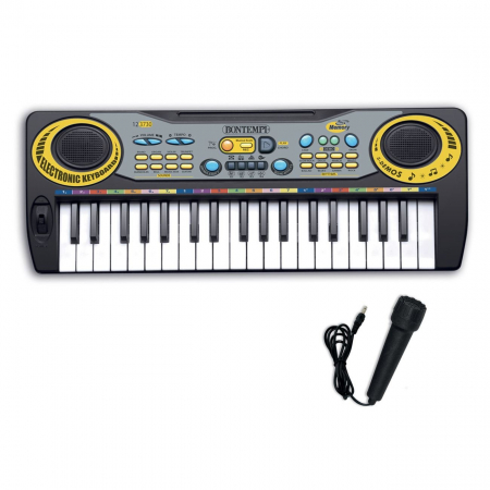 Orga electronica cu microfon, Lioness, 55 x 6 x 16 cm [0]