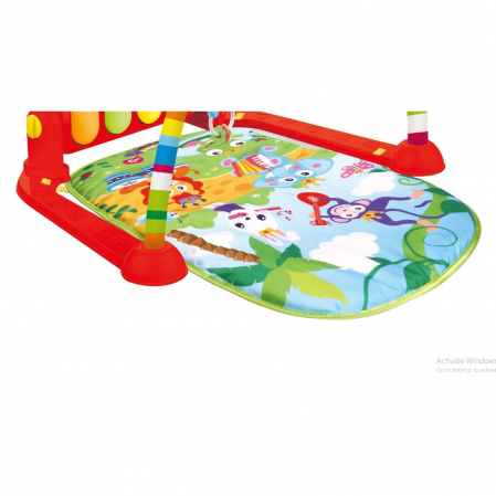 Patura colorata cu pian, 75 x 60 x 42 cm [2]