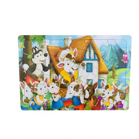 Puzzle Jigsaw, 24 piese, +3 ani, multicolor [0]
