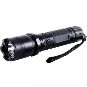 Lanterna cu electrosoc 1000Kv, bec led, metal, negru, husa inclusa BRT-1101 [0]
