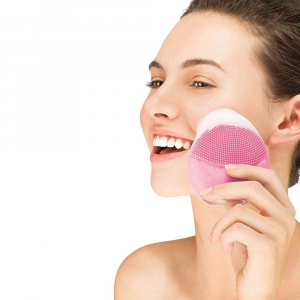 Aparat pentru masaj facial Forever Lina Mini Roz [0]
