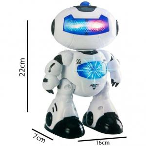 Robot de jucarie Digital Warrior 09 ,canta si danseaza 7x16x22 cm [4]