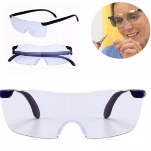 Ochelari cu lupa Big Vision, marire 160%, unisex, negru [0]