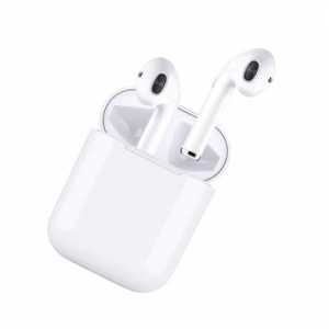 Casti wireless I9S True Twin Stereo White, Compatibile Android & iOS, Conectare BlueTooth, Docking Station [0]