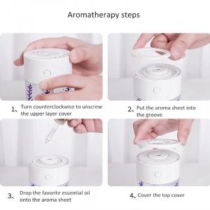 Difuzor,Aromaterapie ,Umidificator ,Led diferite culori,360ml [1]