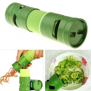 Feliator legume si fructe in forma de spirala,Culoare verde [2]