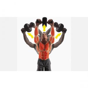 Roata tonifiere abdomen, 50 x 220 x 12 mm, forma ergonomica [3]
