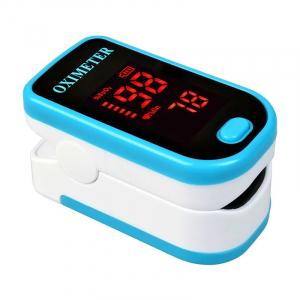 Pulsometru / Oximetru, Finger Pulse Oximeter, Indica nivelul de saturatie a oxigenului din sange, Masoara rata pulsului [1]