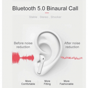 Casti Bluetooth Wireless i11 , Profesionale, TOUCH CONTROL, Functie SIRI, Compatibile Android & iOS [2]