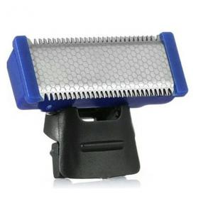 Aparat de ras electric Micro Touch, SOLO, fara fir, 3 piepteni distantieri, negru/albastru [2]