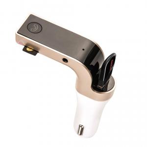Modulator FM Handsfree Bluetooth Reflection Vision ,model CARG7, USB, card SD Gold [0]