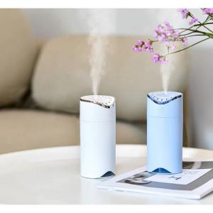 Difuzor si umidificator aromaterapie E39, cu lumina 7 culori LED, Arc Style [0]