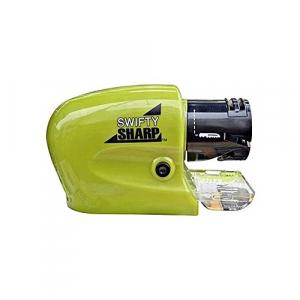 Ascutitor electric pentru cutite Swifty Sharp, Verde/Negru [0]