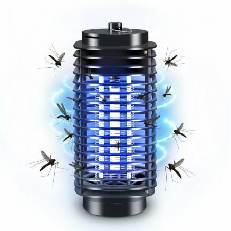 Aparat anti insecte cu lampa UV, pentru interior si exterior [0]
