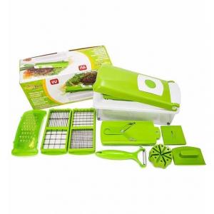 Razatoare de legume multifunctionala EDAR, 11 moduri de taiere, 9 piese [4]