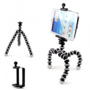 Mini trepied flexibil pentru telefon sau camera video/foto [4]