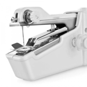 Mini masina de cusut portabila SIKS H1, pe baterii, premium, Alba [3]