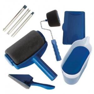 Trafalet Paint Roller Profesional cu umplere + rezervor si recipient,brat extensibil, 2 accesorii pentru Colturi,insta [0]