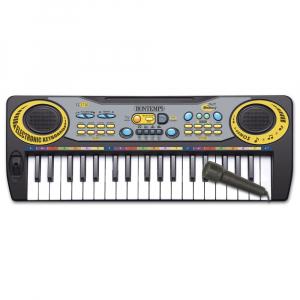 Orga cu Microfon , orga are 37 de taste 5 piese demo, 8 sunete, ritmuri, modul de inregistrare si redare, ATS , pentru copii