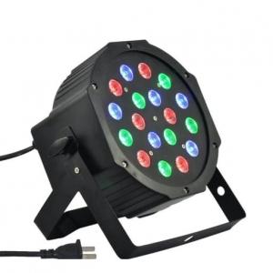 Proiector lumini Par Led 18x1W Slim, Evenimente, Nunti, Dmx in-out, Microfon, Cooler, Club, Disco, Petrecere [0]