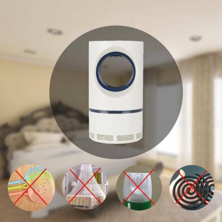 Aparat Insectocutor lampa UV anti-insecte, alimentare USB, eficienta 20mp, 5W [1]