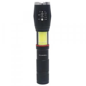 Lanterna tactica Tac Light Elite cu 5 moduri luminare si 2 surse de lumina, neagra [3]