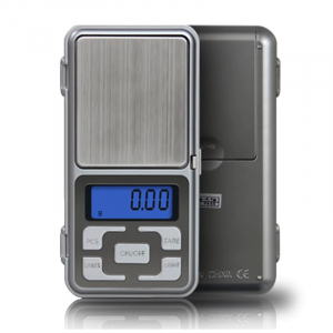 Mini cantar electronic de buzunar pentru bijuterii cu afisaj LCD, capacitate pana la 200g [1]