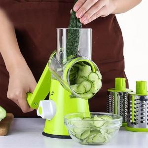 Razatoare manuala pentru fructe si legume cu 3 lame interschimbabile [1]
