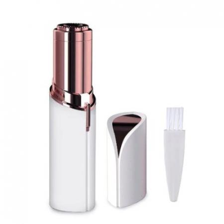 Epilator facial cu incarcare USB, Trimmer EGGO Skin, Aparat portabil pentru indepartarea parului facial cu LED- Flawless Finishing Touch USB - Alb/ Alaska White [0]