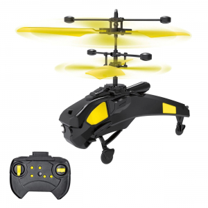 Jucarie elicopter galben cu Senzor & Lumina +Telecomanda, ETK