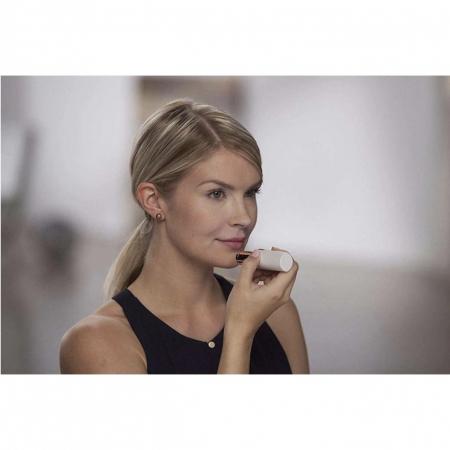 Epilator facial cu incarcare USB, Trimmer EGGO Skin, Aparat portabil pentru indepartarea parului facial cu LED- Flawless Finishing Touch USB - Alb/ Alaska White [5]
